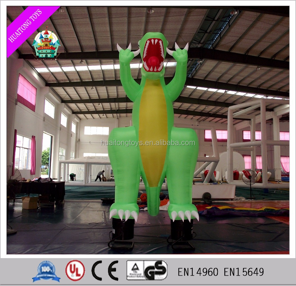 2016 3m giant or Customized inflatable dinosaur, cartoon advertising , model for sale