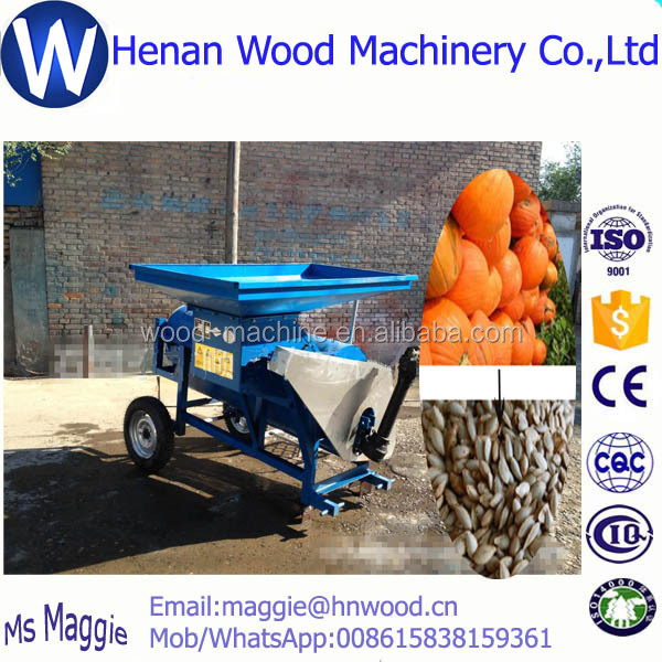 Perfect performance seeds harvester /pumpkin seeds processing machine/WhatsApp 008615838159361