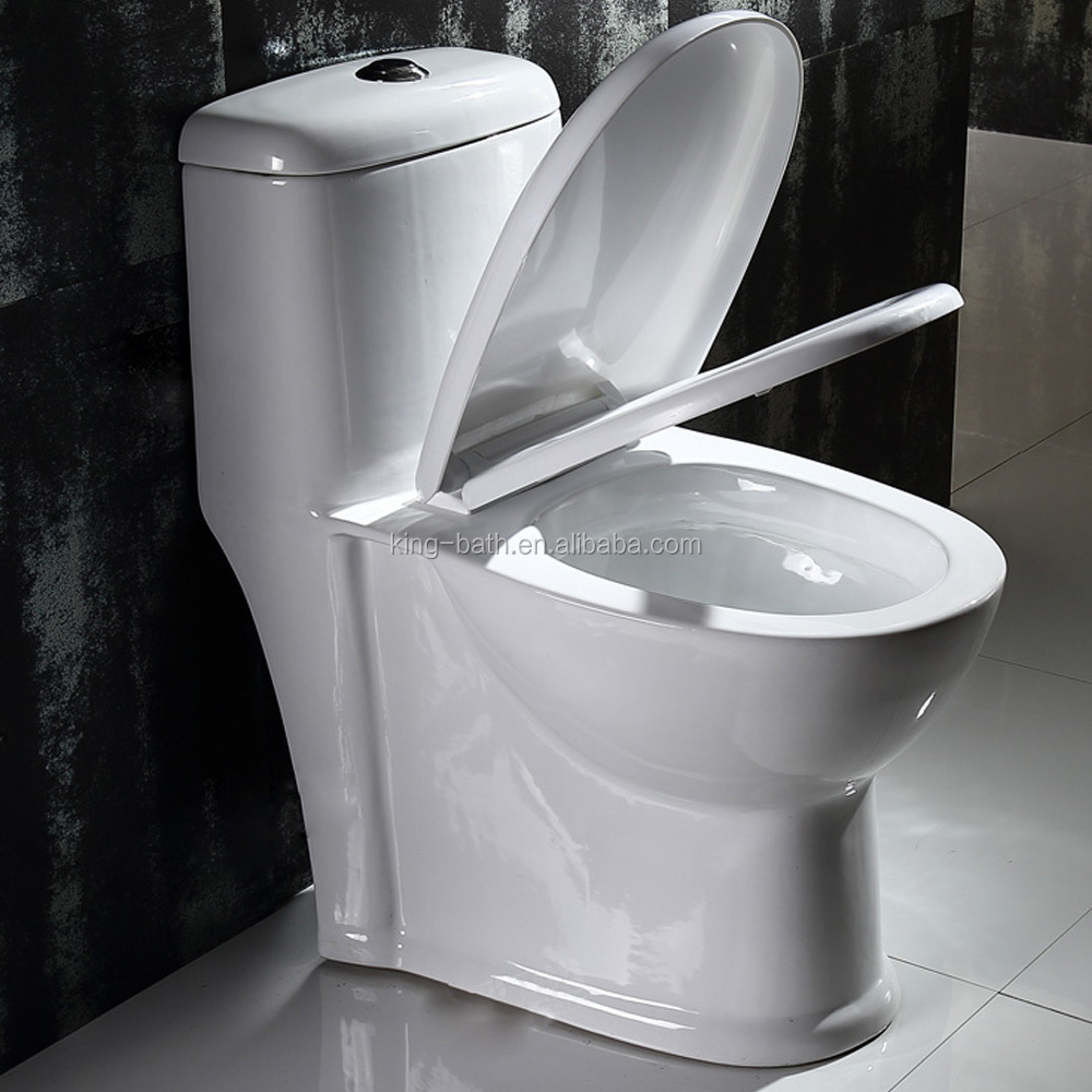 bathroom toilets siphon toilet item , Bathroom Ceramic Sanitary Ware Siphonic One-piece Toilet