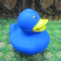 Germany standard High quality Blue promotional rubber duck