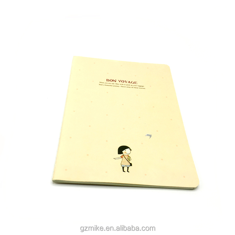 Wholesale customized cheap kids school notebooks