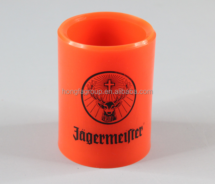 2015 christmas promotion gift, jagermeister TPR led candle light