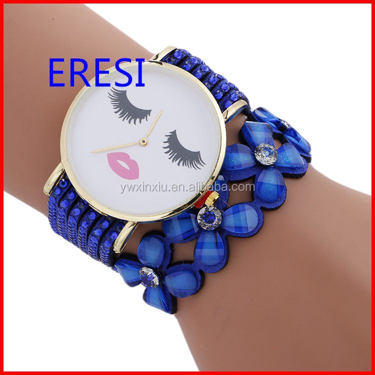 Made In China Fashion Big Face Lady Wrist Watch Promotion gifts Accept Customer Logo Branded Watch