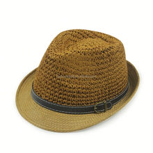 Fashion Design promotional panama paper straw hat cheap
