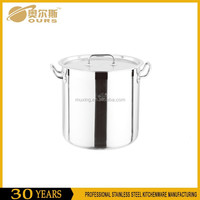 Single bottom Commercial Soup Pot with Lid