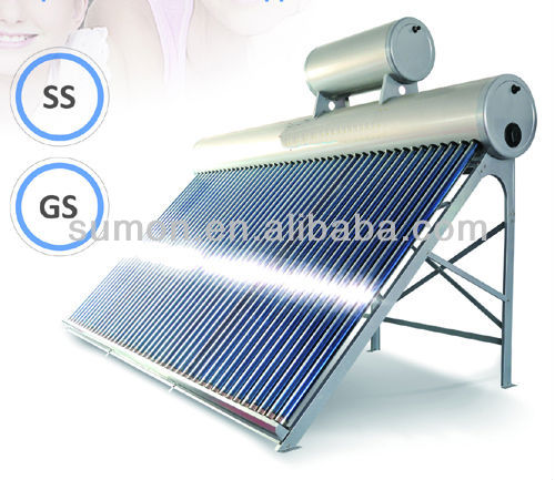 IPZZ Pre-Heated Copper Coil Pressurized Solar Water Heater