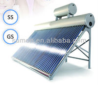 IPZZ Pre-Heated Copper Coil Pressurized Solar Water Heater