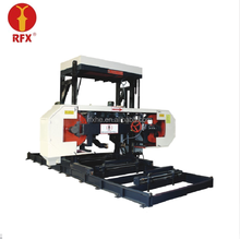 horizontal band saw with machine parts