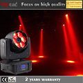 Guang zhou 6 * 4in1 rgbw 15w led bee eye beam moving head for dancing floor