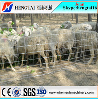 Animal Grazing Use Wire Mesh Fence Machine