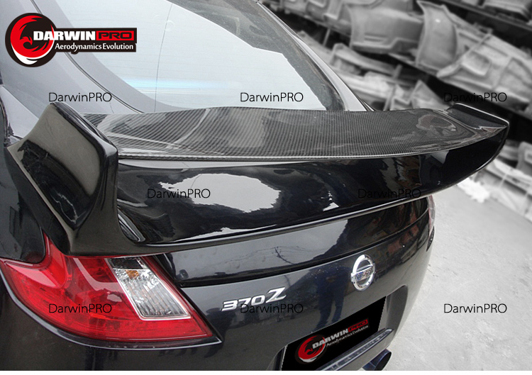 2009-2012 370Z VS3 Style Carbon Fiber Trunk Rear Spoiler Wing