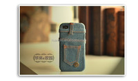 Stylish Slim Fitted Smooth Blue Denim Jean Pattern Hard Back Case for iPhone 6