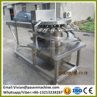 pasteurized egg liquid breaker / egg yolk breaking shell separate machine