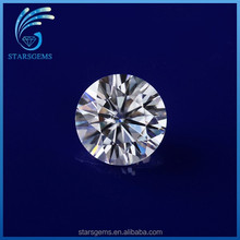 fine moissanite jewelry making 12mm 6ct round standard diamond cut moissanite loose gem