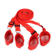 Adult Sex SM toy PU Restraints Bondage Adult Adjustable Straps For SM Game BDSM