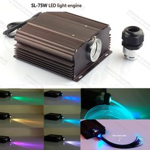 high power 75W RGB led light fiber optic light generator for lighting decoration