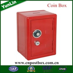 Ample supply and prompt round money saving tin box