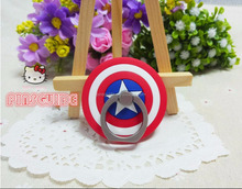 Cheap cartoon PVC 360 mobile phone ring creative stent cell phone holder for All mobile phone