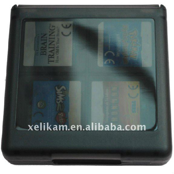 16 in 1 Black Game card storage for NDS Lite , NDSi, NDS LL , NDS XL
