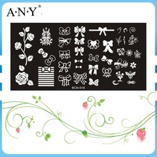 Nail Custom DIY Design Art Beauty Care Stainless Metal Stamping Nail Art Plates