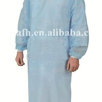 Health Medical With Isolation Gown In