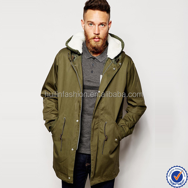 online clothing store mens long coat wholesale jackets winter men's hooded neck trench coat