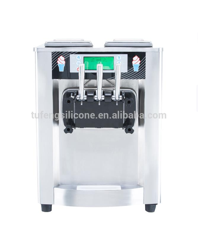 Stainless steel commercial ice cream machine for sale