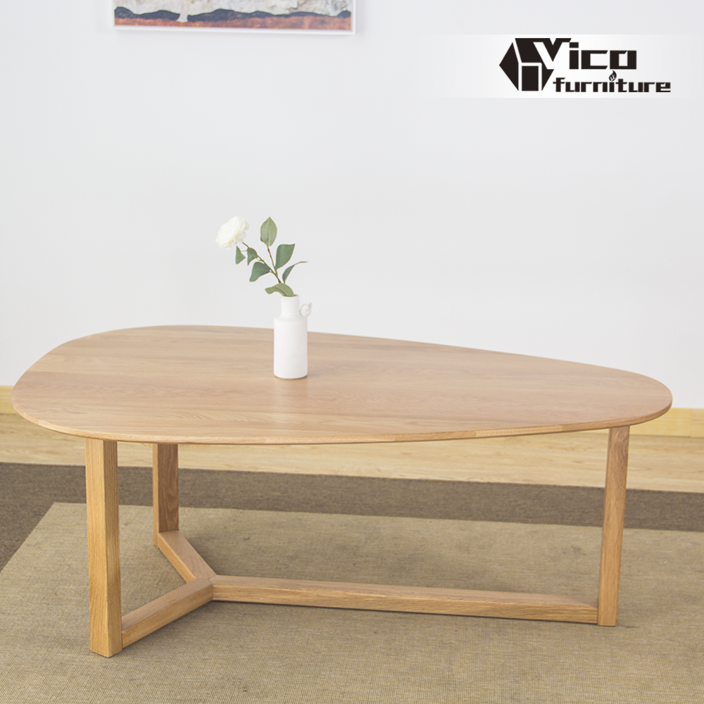 manufacturer wholesale best price solid oak wood classic design tea table