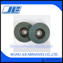 Professional Zirconia 100mm Dia 16mm Hole Vertical Sanding Flap Oxide Grinding Discs