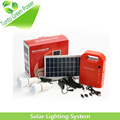 Portable 3W Solar household lighting system