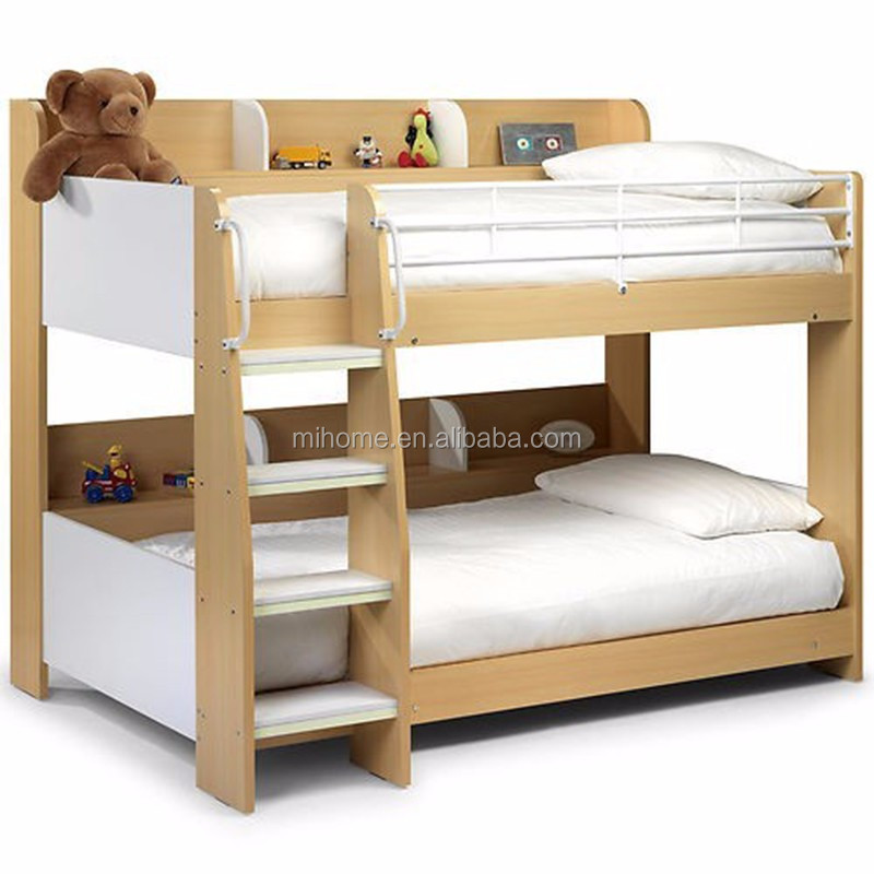 Solid wooden kids bunk bed children bunk bed