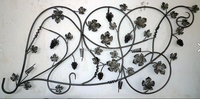 forged grape cast steel leaves wrought iron components for staircase