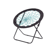Bunjo Bungee Dish Chair Dorm. Bedroom, Entertainment Center, Patio <strong>Furniture</strong>, Sporting Events and Camping