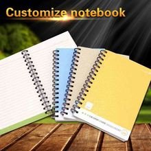 Custom High Quality Cheap With Cute A5 Hardcover Paper Bulk Spiral Notebooks Designs Pen