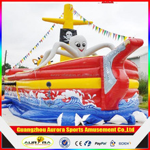 2015 High quality inflatable pirate ship toy for sale with factory price
