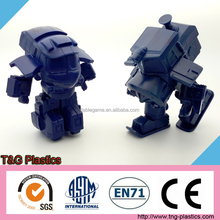 High quality customized collectible 3d pvc robot figure