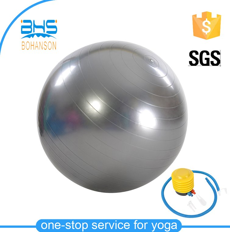Jump half fitness ball with band , mini pilates ball photo