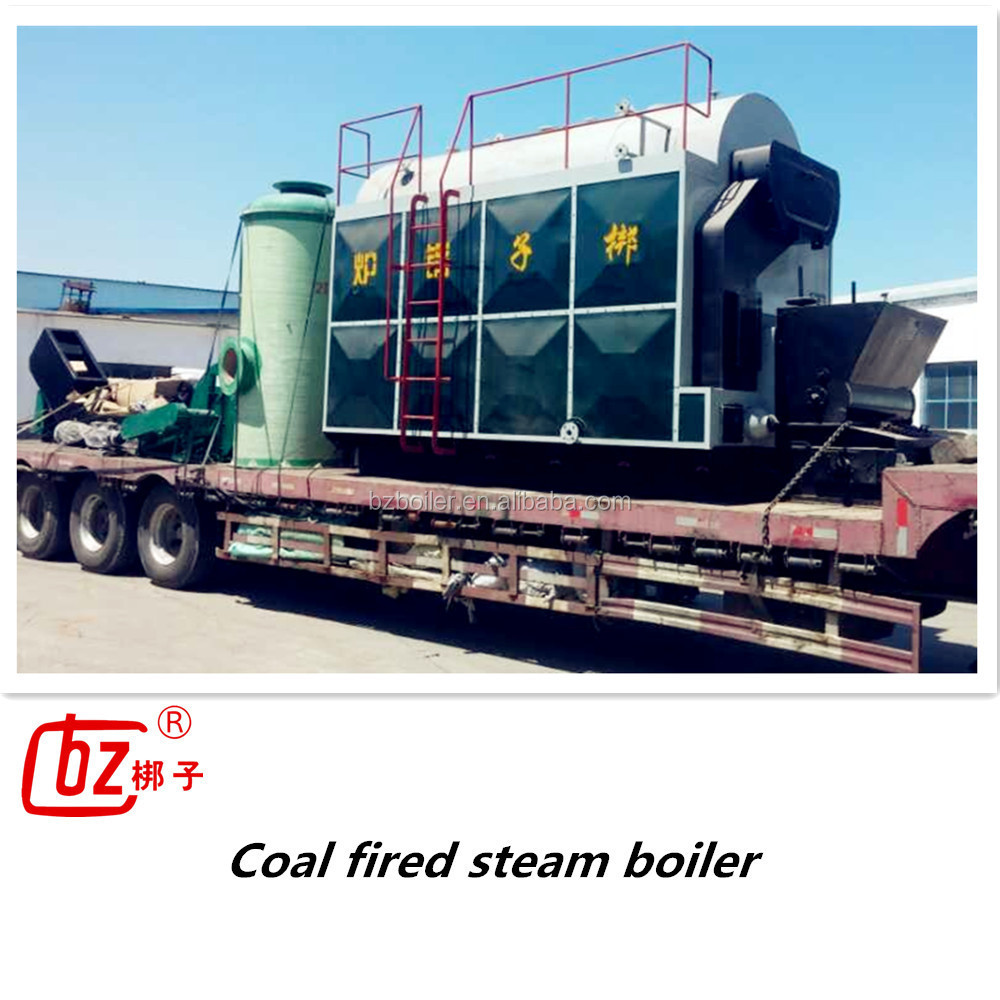 low price boiler wood pellet steam boiler DZH boiler