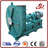 Industrial dust collector centrifugal exhaust fan blower