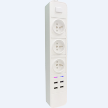 Chicoyo EU French WiFI Smart Electric Extension Socket, Power Strip Supporting Amazon Alexa and Google Home