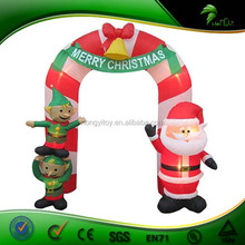 Fantastic Inflatable Arch, Inflatable Christmas Arch Decoration, Inflatable Santa Arch