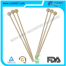 High quality BBQ skewer grilling tools barbecue bamboo stick