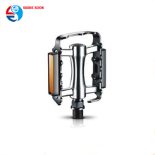 Bike parts cycling pedals Aluminum barrel polished Ball bearing Boron Axle BMX MTB road mountain city bicycle pedal