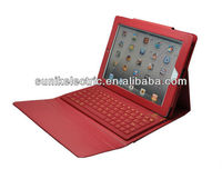 Bluetooth wireless Case Cover with Keyboard for iPAD2