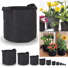 Cheap price 3 5 7 15 gal fabric felt garden plant grow bag for flower tomato potato
