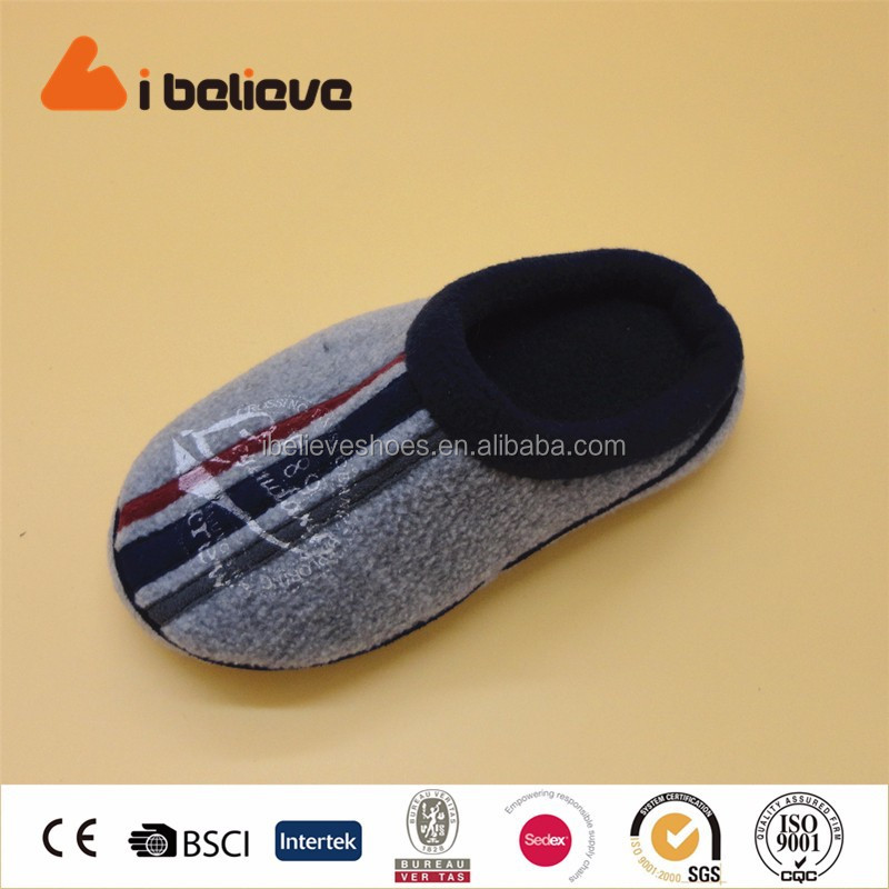 Warm new model non slip plush stompeez slippers