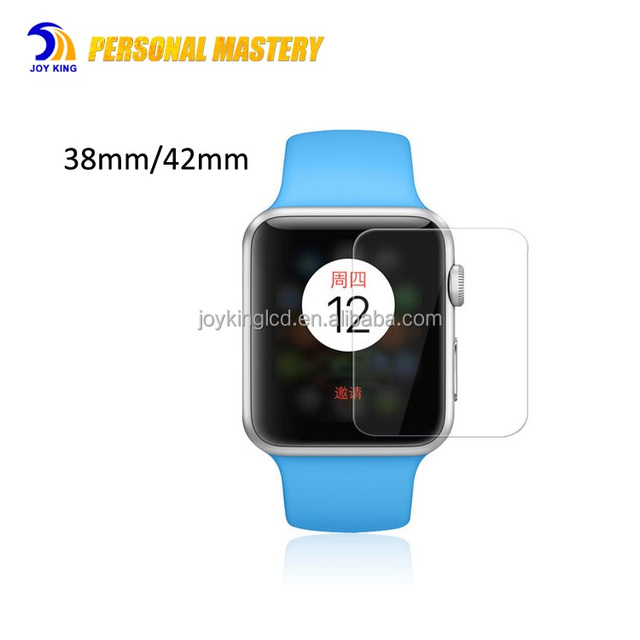 for apple watch Tempered Glass Screen Protector 38mm 42mm 9H 0.3mm 2.5D Hot Sale Clear Screen Protector Film