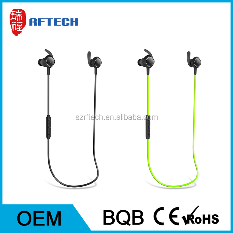Bluetooth 4.1 Earphone Wireless Earbud sport Headphones smart Magnetic headset with Microphone