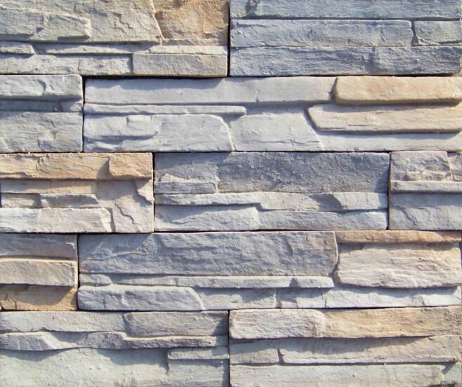 Artificial stone dry stack faux stone panels polyurethane stone ...