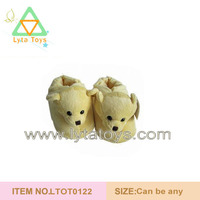High Quality Custom Plush Bear Slipper